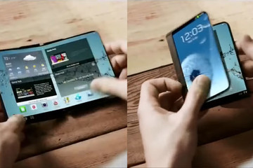 Điện thoại gập đôi sẽ được Samsung công bố trong tháng 11