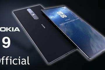 Nokia 9 lộ diện với camera 6 ống kính