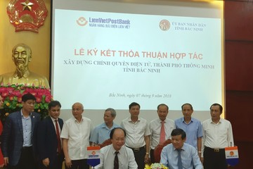 LienVietPostBank hỗ trợ Bắc Ninh xây dựng chính quyền điện tử