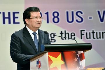 Phó thủ tướng: Mỹ không cần lo ngại thâm hụt thương mại với Việt Nam