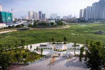Công viên 300 tỷ đi vào hoạt động sau hơn một năm chậm tiến độ