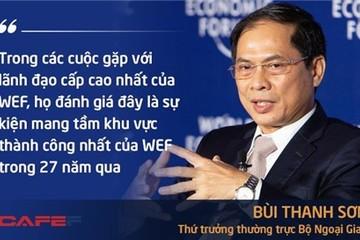 Thứ trưởng Bùi Thanh Sơn công bố những con số 'biết nói' về WEF ASEAN 2018