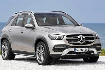 Mercedes GLE 2019 - động cơ mới, thêm công nghệ