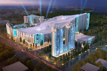 Xây resort trượt tuyết trong nhà lớn nhất thế giới tại Thượng Hải