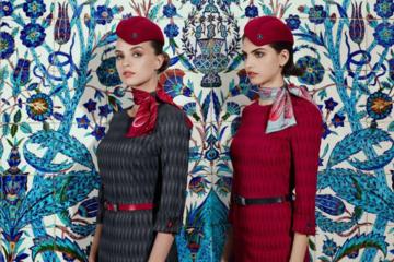 Hãng hàng không Thổ Nhĩ Kỳ thay đồng phục 'sành điệu' nhất thế giới