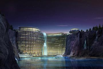 Khách sạn hố sâu đầu tiên trên thế giới