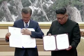 Kim Jong-un cam kết đóng bãi thử tên lửa, không sở hữu vũ khí hạt nhân