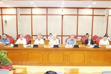 Bộ Chính trị họp cho ý kiến về các đề án chuẩn bị trình Hội nghị Trung ương 8