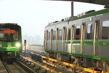 Hôm nay chạy thử tàu đường sắt trên cao Cát Linh - Hà Đông