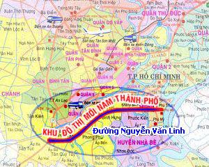 Tìm chủ đầu tư dự án thể dục thể thao gần 14 ha Khu đô thị mới Nam TP HCM