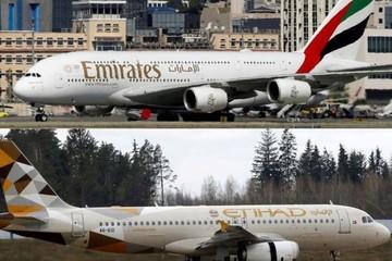 Ngành hàng không có thể sắp đón vụ sáp nhập khổng lồ giữa Emirates và Etihad