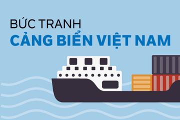 Infographic: Bức tranh cảng biển Việt Nam