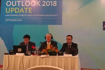 ADB hạ dự báo tăng trưởng GDP Việt Nam còn 6,9% năm 2018