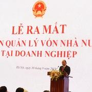 Thủ tướng: Uỷ ban quản lý vốn không được tạo yêu sách, gây khó khăn cho DN