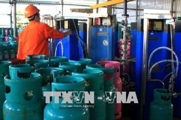 Từ 1/10, giá gas khu vực phía Nam tăng nhẹ