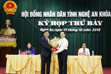 Trưởng ban dân vận làm Chủ tịch tỉnh Nghệ An