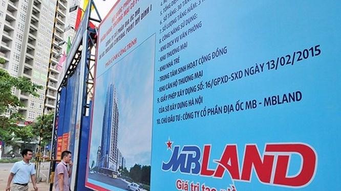 Trực thăng Việt Nam đấu giá lô 31% vốn MBLand