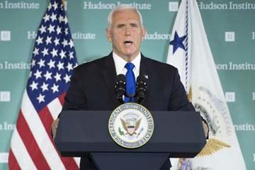Phó tổng thống Mỹ công kích Trung Quốc 'ăn cắp', 'gây hấn', 'áp bức'