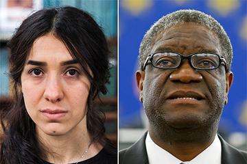 Nobel Hòa bình 2018 vinh danh nỗ lực chống bạo lực tình dục
