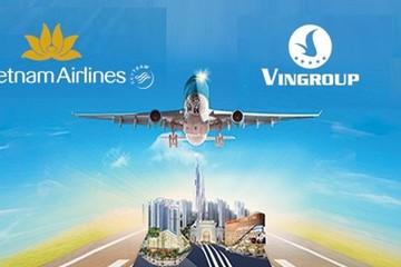 Vietnam Airlines hợp tác Vingroup xây dựng các sản phẩm hàng không và du lịch