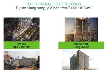 Khan hiếm, căn hộ hạng sang TP HCM xác lập kỷ lục giá trên 7.000 USD/m2