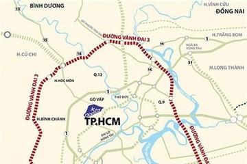 TP HCM muốn ứng gần 3.000 tỷ làm đường vành đai 3