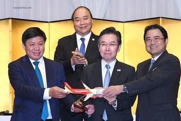 Thủ tướng chứng kiến Vietjet mở đường bay mới giữa Việt Nam - Nhật Bản