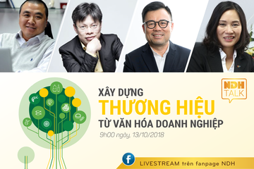NDH tổ chức NDH Talk 08 với chủ đề 'Xây dựng thương hiệu từ Văn hóa doanh nghiệp'