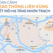 Infographic: Toàn cảnh giao thông liên vùng kết nối hạ tầng Nhơn Trạch