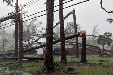 Sức tàn phá của cơn bão mạnh nhất 50 năm đổ bộ bờ Đông nước Mỹ