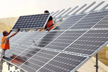 Vietcombank tài trợ thêm một dự án điện mặt trời ngàn tỷ