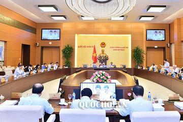 Thường vụ Quốc hội chuẩn bị cho ý kiến về công tác nhân sự