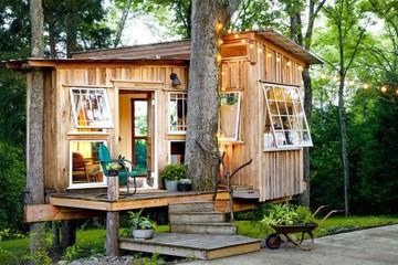 Những ngôi nhà nhỏ phong cách ấn tượng
