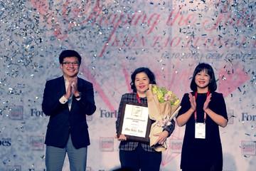 Bà Mai Kiều Liên là người phụ nữ duy nhất được Forbes Việt Nam vinh danh giải thưởng