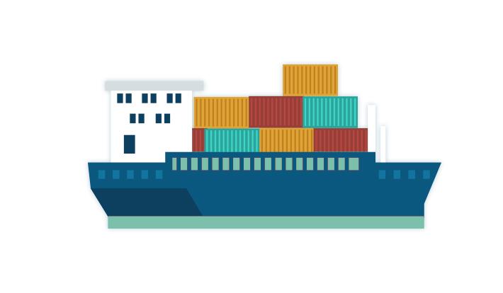 [Infographic] Lưu lượng container trên thế giới phân bổ như thế nào?