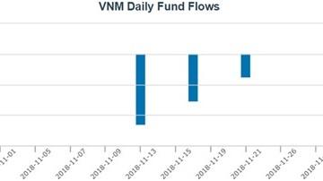 Quỹ ETF ngoại bán, ETF nội đẩy mạnh 'gom' cổ phiếu Việt Nam trong tháng 11