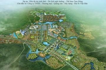 Phú Thọ 'khai tử' dự án khu du lịch nghỉ dưỡng với vốn đầu tư tỷ USD