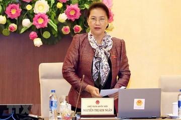 Khai mạc Phiên họp thứ 29 Ủy ban Thường vụ Quốc hội