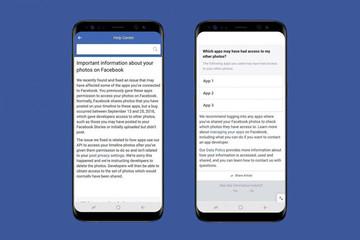Lộ ảnh riêng tư gần 7 triệu người, Facebook có thể bị phạt hàng tỷ USD