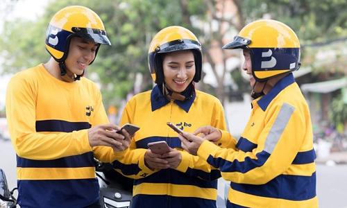 Ứng dụng gọi xe 'be' chính thức hoạt động, cước phí cao hơn Grab