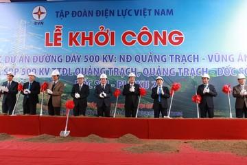 Xây dựng đường dây 500 kV từ Vũng Áng đến Pleiku, vốn đầu tư hơn nửa tỷ USD