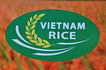 Gạo Việt Nam có logo thương hiệu