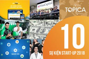Startup Việt 2018: Dấu ấn từ những con số triệu USD