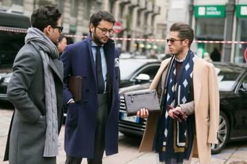 4 cách quàng khăn cho quý ông
