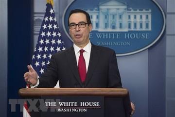 Bộ trưởng Tài chính Mỹ nỗ lực xoa dịu quan ngại của thị trường