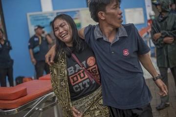 Sóng thần Indonesia: 222 người chết, nguy cơ đợt sóng thần mới ập tới