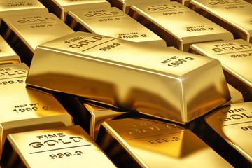Chứng khoán bị bán tháo, giá vàng đạt đỉnh 6 tháng