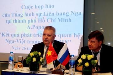Xuất khẩu từ Nga vào Việt Nam tăng mạnh