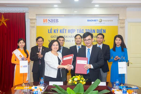 SHB hợp tác với Bảo hiểm Bảo Việt