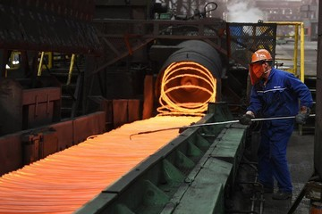 Thép Trung Quốc có tuần giảm đầu tiên trong gần một tháng qua